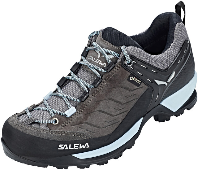 SALEWA MTN Trainer GTX Shoes Damen charcoalblue fog